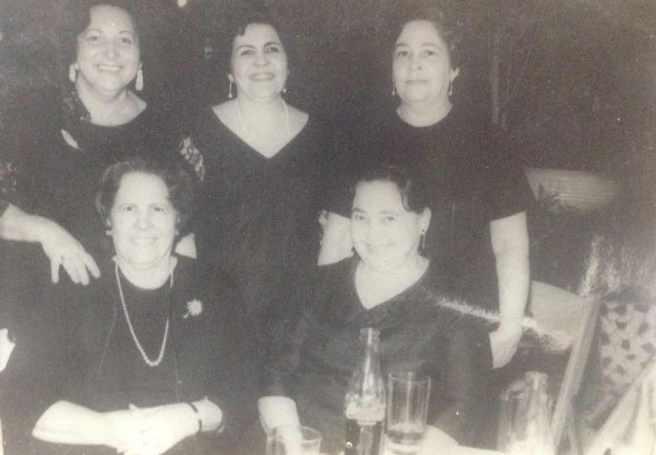 Foto 14 Las Castillito, Mercedes Nina, Luisa Cristina, Maria Josefina y Carmencita.jpg